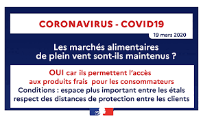 COVID-19 : MARCHE - ORGANISATION