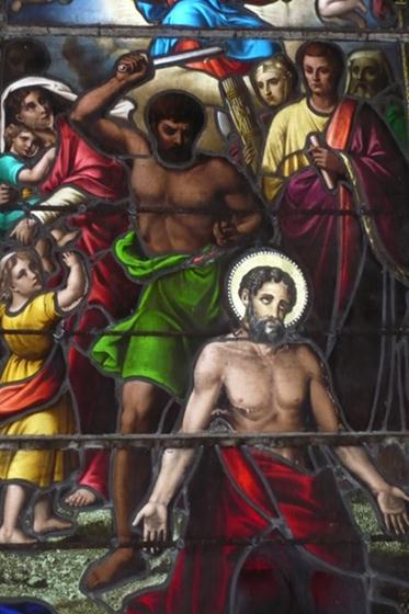 Le martyr de Saint-Prest